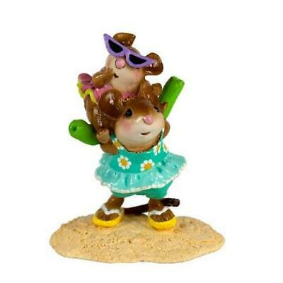 Wee Forest Folk JOY RIDE, WFF# M-294a, Limited Edition 2019 Beach Mouse