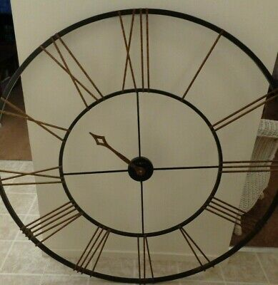 Howard Miller Super Rare Giant Vintage Retro Antique Htf Collectible Wall Clock