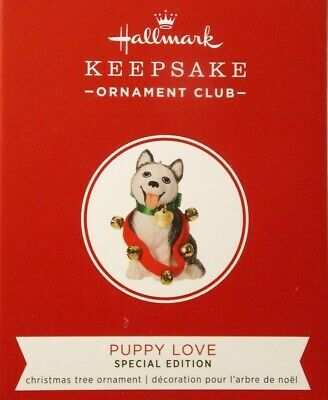 Puppy Love- Husky 2019 Hallmark KOC Event Exclusive Special Edition Ornament