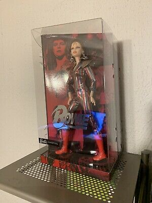 Barbie David Bowie Doll Limited Edition Ziggy Stardust Gold Label New In Hand **