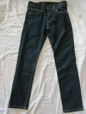 LEVIS 511 Skinny Men's 29 X 28* Dark Wash Cotton Blend Stretch Denim Jeans