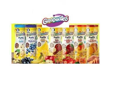 Gerber Graduates Baby Finger Foods Fruit Puffs (Pick One) RE18