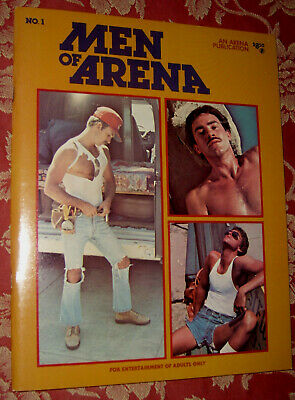 "Gay Vintage Magazin ""Men Of Arena Nr. 1"" Very Rare- Top Zustand"
