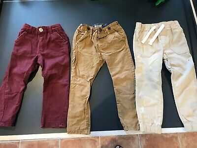 Bulk Lot Boy's Size 3 Pants Next, Tu, Hit