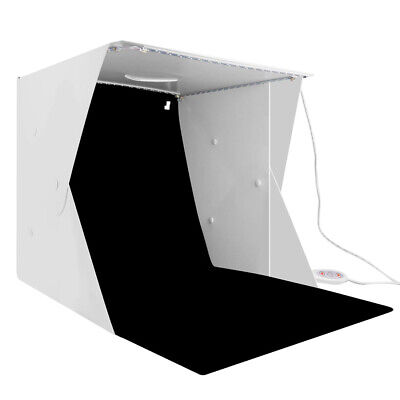 BGNING Mini Photo Light Box Set Portable Photography Studio Soft Light Box 40cm