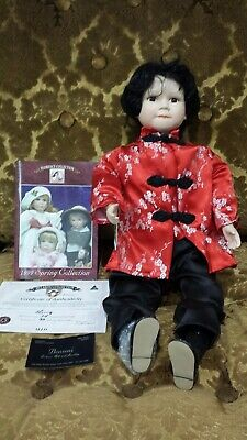 Jillaroo collection Chinese Porcelain doll 49cm height as new condition