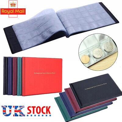 Collectors Coin Album for 240 Coins Olympic,Beatrix,Penny Storage Holder £1 Book