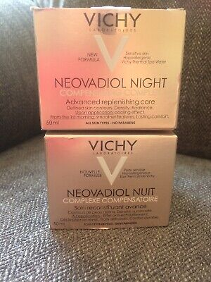 2 x  Neovadiol Compensating Complex Night 50ml All Skin Types GENUINE & NEW