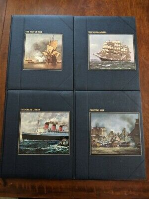 Time-Life Books The Seafares Windjammers/Fighting Sail/Great Liners/ 4 Book set