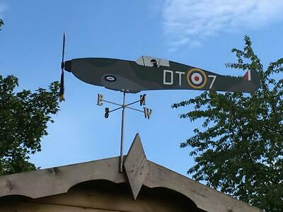 Hurricane Spitfire aeroplane windvane.(Large) with N/S/E/W points