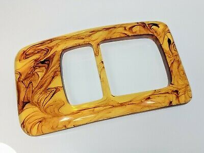 Lovely Transparant Toffee Candy Lucite Large Belt Buckle by MISS SIXTY