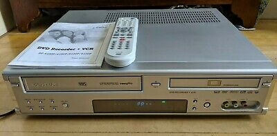 Daewoo DF 4100P DVD Video Combi. Copy VHS to DVD. With Remote Control + Manual.