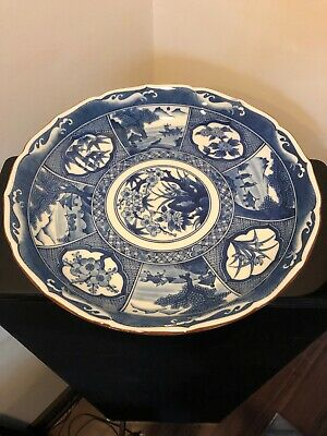 Antique Japanese Imari Plate - Signed By Tomoko