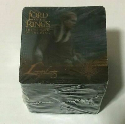 Artbox Lord of the Rings Return of the King Action Flipz Cards Set *Sealed*