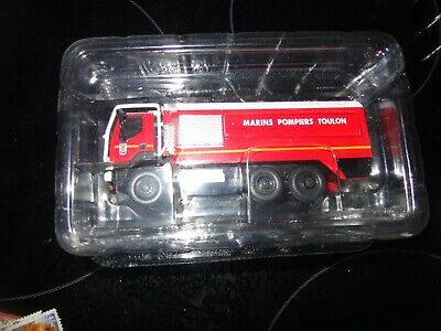Del Prado Fire Engines Of The World 1:72 2003 Cci Renault 11000 Toulon France