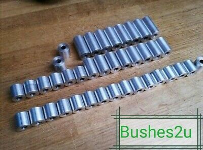 M4 M5 M6 M7 M8 M9 M10 STAINLESS STEEL SPACER TUBE COLLAR 16MM OUTER DIAMETER