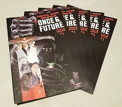 Once And Future #1 First Printing Boom! Studios Hot Sold Out Htf Lot Of 5