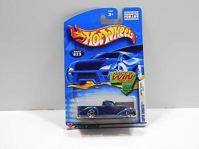 2002 HOT WHEELS  /'/'FIRST EDITIONS/'/' #023 = SUPER SMOOTH = BLUE E910 win