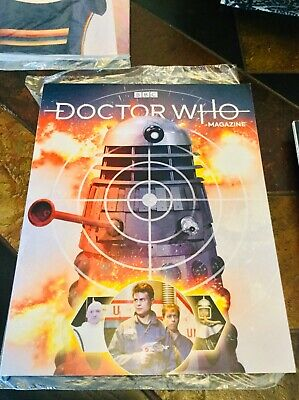 Doctor Who Issue 537 May 2019. Subscribers Cover. Official BBC Magazine.