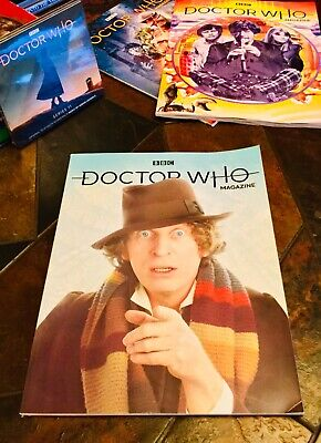 Doctor Who Issue 534 February 2019. Subscribers Cover. Official BBC Magazine.