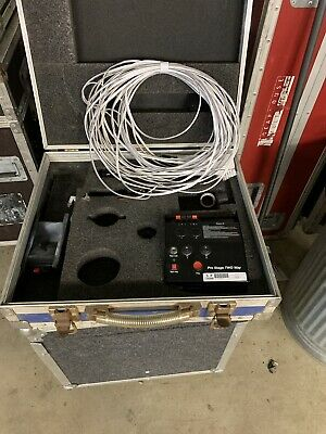 Le Maitre Pyrotechnic Stage Pyro Kit In Flightcase