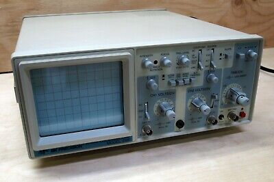 BK Precision Model 2120 Oscilloscope - 115V / 230V-50-60Hz-35 WATTS 20MHz