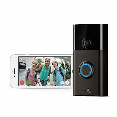 Ring Wi-Fi Video Doorbell HD, Motion Activated Alerts, Easy Install $0 TAX!!!