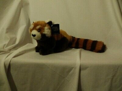 """20"""" including tail cute soft Chester zoo red panda ark toys plush doll new tag"""