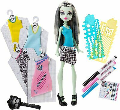 Monster High Frankie Dress Designer Doll (Multi-Color)