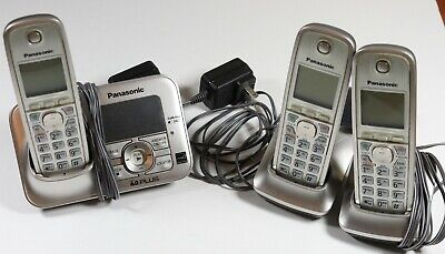 Small Business Panasonic KX-TG4131, Phone System - Includes 3 Headsets and Base