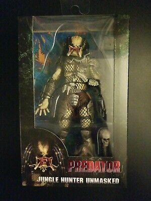 "JUNGLE HUNTER UNMASKED Predator 30th Anniversary 7"" inch Action Figure Neca 2017"