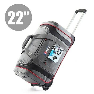 20 in Rolling Wheeled Duffel Bag Carry On Travel Suitcase Luggage Lighweight