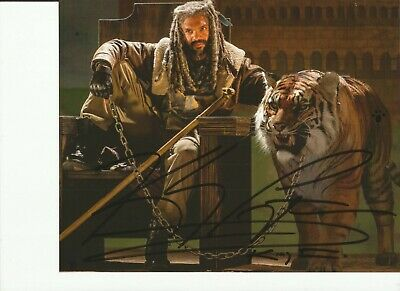 Khary Payton 'The Walking Dead' Autographed Signed 8x10 Photo GTP