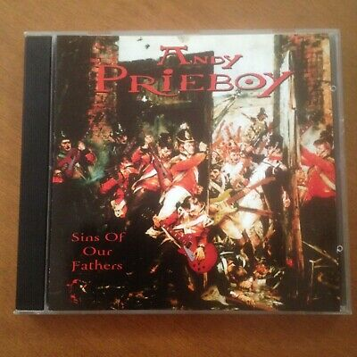 Andy Prieboy - Sins Of Our Fathers - (Wall Of Voodoo) - Cd
