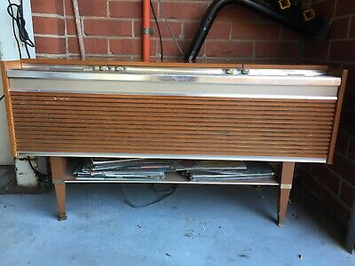 Vintage Retro HMV Rhapsody Stereographic Radio And Record Player.