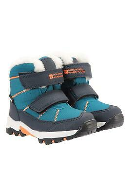 Mountain Warehouse Kids Snow Boots Waterproof Lined Girls Boys Snowboots