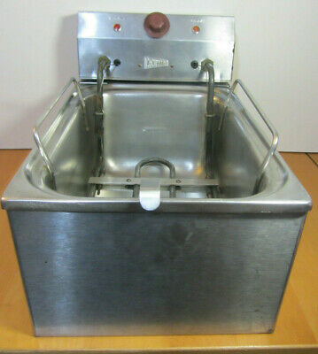 Grindmaster-Cecilware EL120 Commercial Stainless Steel Deep Fryer WORKS GREAT