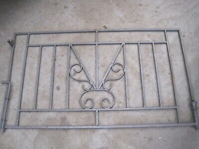House Garden Gate  Vintage Retro Decorative Wrought Iron