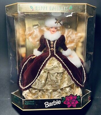 Vintage Special Edition Holiday Barbie 1996 Mattel #15646 Never Opened Christmas