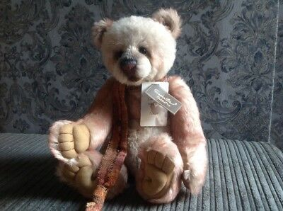Charlie Bears Solitaire Isabelle Collection Limited Edition Mohair Teddy Bear.