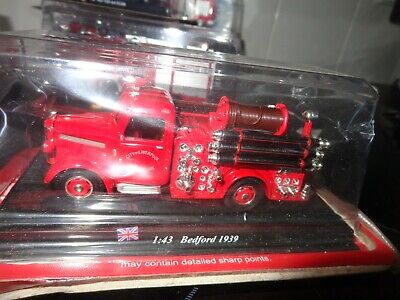 Del Prado Fire Engines Of The World 1939 Bedford City Of Liverpool  Uk  1/43