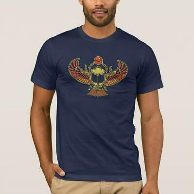 Egyptian Scarab Beetle Men's T-Shirt | Entomology | Ancient Egypt Gift