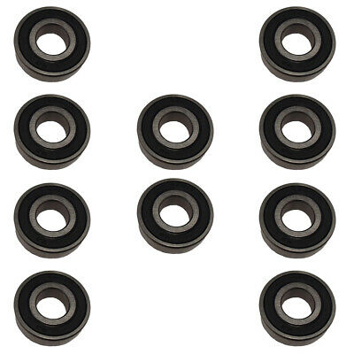 10 Pack (Ten)- Seal Sealed Premium Ball Bearings 62032RS 6203-2RS HCH Brand 6203