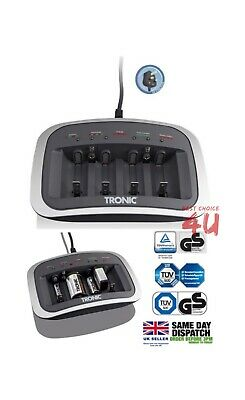 Tronic Battery Charger For use with Ni-MH and Ni-Cd rechargeable batteries