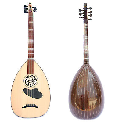 Professional Concert Turkish Lavta Lute Selected Wenge Wood by Kamil Gül