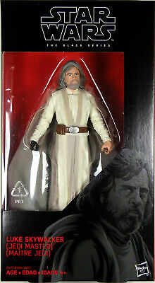 "Star Wars Last Jedi Black Series 6/"" Luke Skywalker #46 MIB In hand"