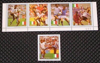 Paraguay 2309-2310 World Cup Soccer MNH