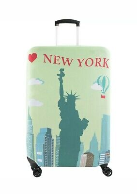 """AGT American Green Travel 28-30"""" NEW YORK Print Spinner  Luggage Accessorie NEW"""