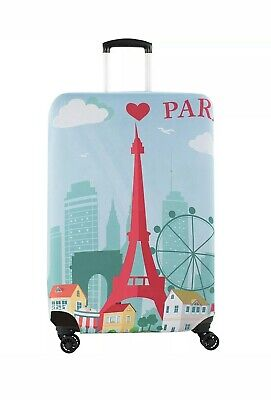 "AGT American Green Travel 28-30"" PARIS Print Spinner  Luggage Accessorie NEW"