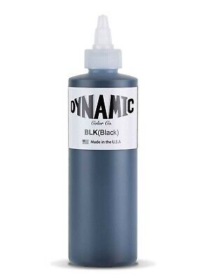 {PiA} Dynamic BLACK 240 ml (8 OZ) Künstlerfarbe Farbe Colour